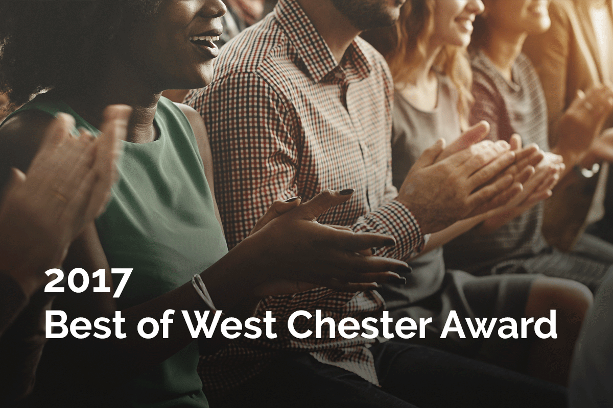 2017 Best of West Chester Award