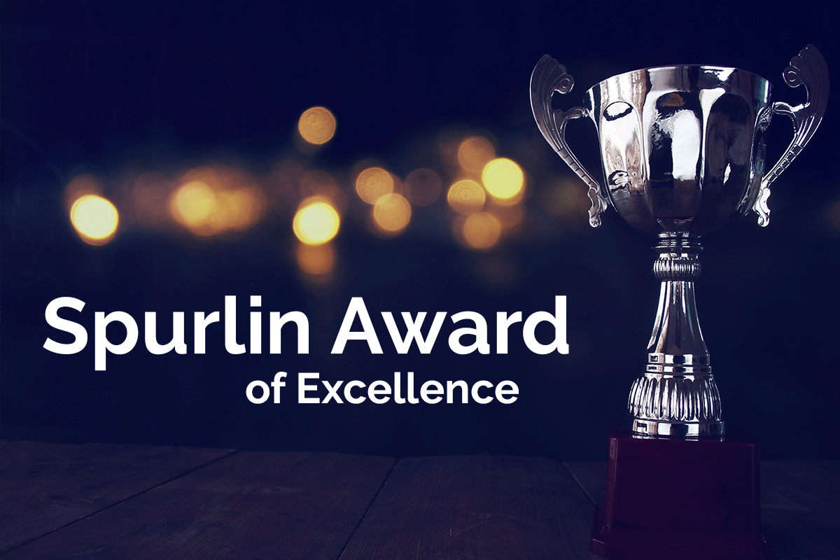 Spurlin Award of Excellence Awarded to Chris Latch