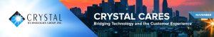 Crystal Cares: November